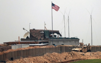 US evacuates first military warehouse in Syria