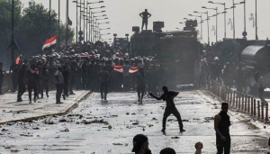 Four killed and 48 wounded in Baghdad protests