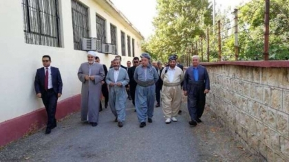 Shaqlawa ... Secretary-General of the Kurdistan Islamic Union visits a number of personalities
