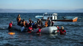 Almost 50 refugees feared drowned in the Mediterranean