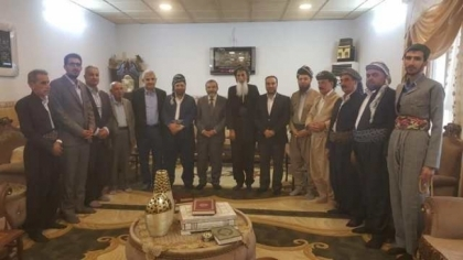 Secretary-General of the Kurdistan Islamic Union visits religious figures in the city of Erbil