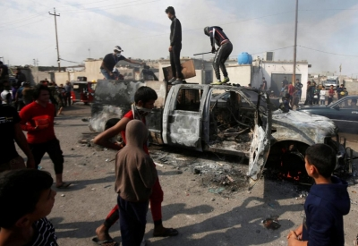 Security forces kill nine in Iraq protests