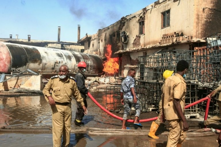 23 killed in ceramics factory fire in Sudan