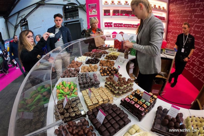In pictures....Brussels Chocolate Fair 2019