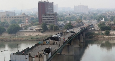 One soldier killed as rockets hit Baghdad's Green Zone