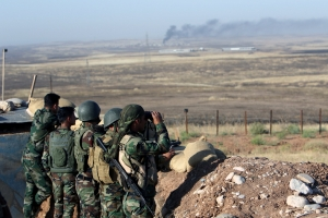US confirms support for Peshmerga forces