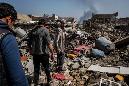 Mosul battle: At least 142 civilians killed in six days