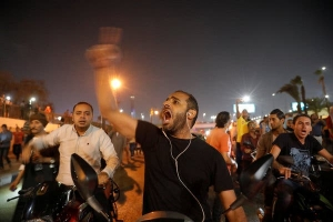 Protests in Egypt againt SISI