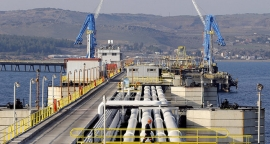 The export of the region's oil to the Turkish port of Ceyhan has stopped