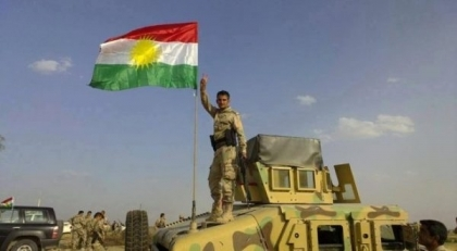 Peshmerga managed to arrest a suicide bomber before he blew himself up