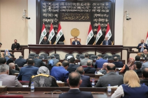 The Iraqi parliament votes on the election law