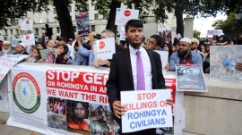 London rally urges rapid action for Rohingya crisis