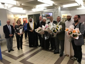 World Union of Muslim Scholars distributes roses to hospitals in New Zealand