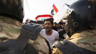 Iraqi security forces enter a state of emergency due to the expected demonstrations on Friday