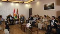A delegation from the Democratic Union Party visits the Kurdistan Islamic Union
