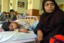 India anger as 30 children died in two days in hospital