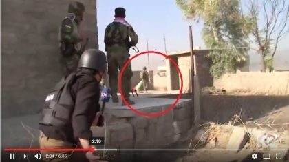 Video...street-to-street clashes between Peshmerga forces and ISIS militants