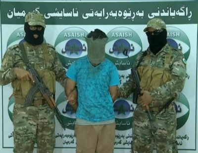 Asayish announces the arrest of a prominent ISIS commander in Garmyan