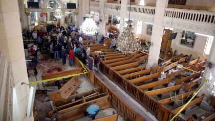 Deadly blasts hit Coptic churches in Tanta, Alexandria