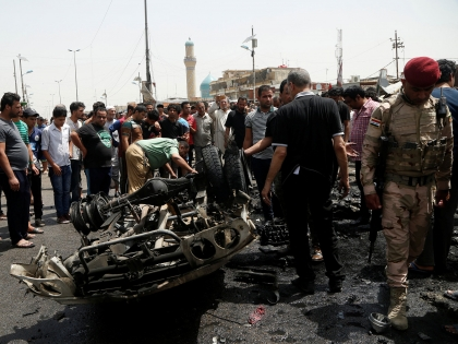 Car bombing kills at least 31 in Iraqi capital