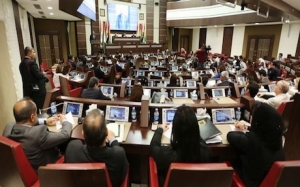 Chaos in the parliament of Kurdistan in today's session