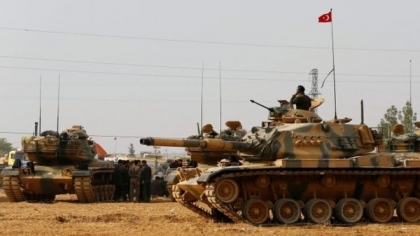 Turkey strengthening its forces on the borders of Syria and Yildirim visits Iraq