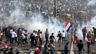 UK calls on Iraqi gov't to protect protesters