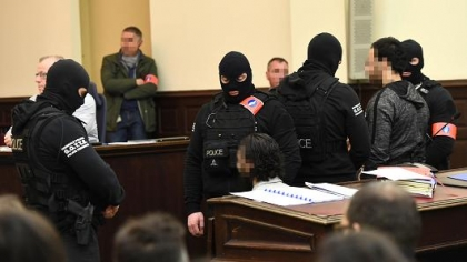 Salah Abdeslam gets 20-year sentence in Brussels trial