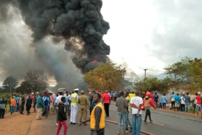 At least 60 killed in fuel tanker explosion in Tanzania