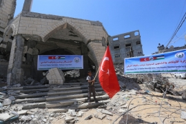 Turkey rebuilds 9 mosques in Gaza