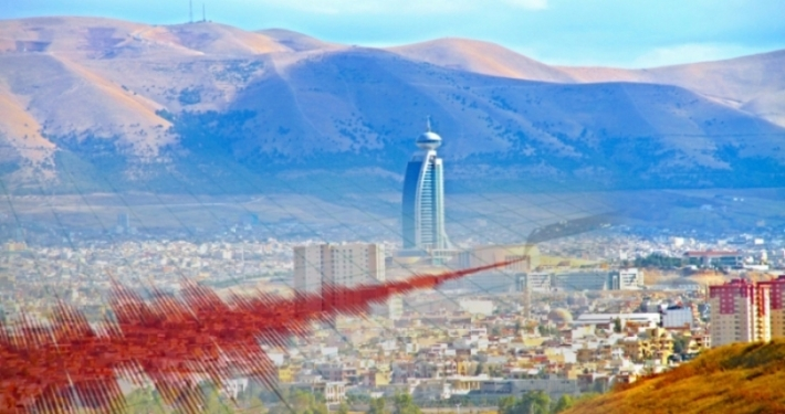 Earthquake hits Penjwin town in Sulaymaniyah