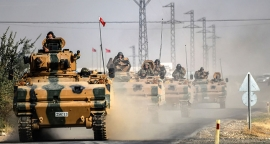 Turkish troops arrive in Qatar for military exercise