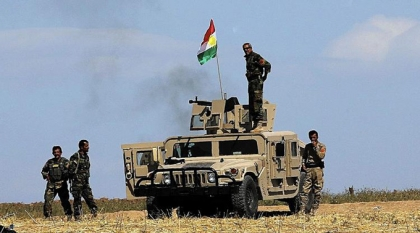 Peshmerga forces moved towards the city of Mosul