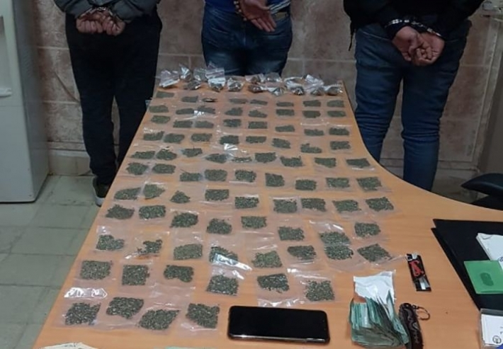 3 people arrested in Erbil on charges of drug trafficking and abuse