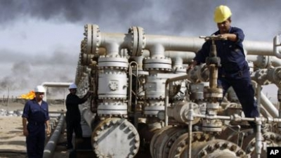 Iraq has produced more than 408 million barrels of oil this year