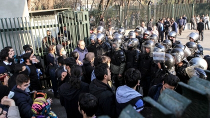 Two protesters killed in Iran anti-government rallies
