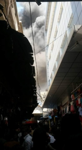 Dohuk...Victims in a fire in a market