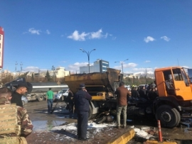 A service vehicle exploded in Sulaymaniyah