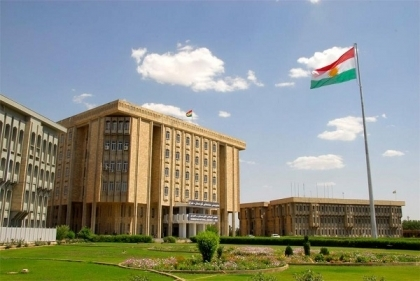 A meeting of heads of parliamentary blocs with the Speaker of Kurdistan Parliament