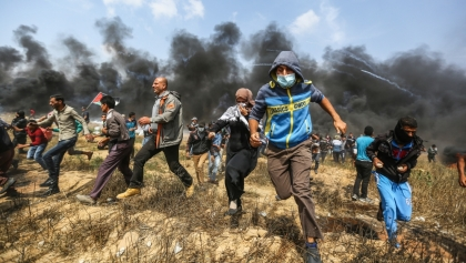 Deadliest  Gaza protests in weeks amid US embassy move