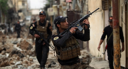 Iraqi forces shoot down two bombers near Mosul