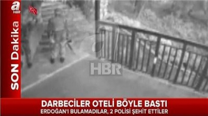 Video ... the assassination attempt of Erdogan at the night of the coup attempt