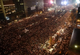 Fresh mass rally against South Korea's Park Geun-Hye