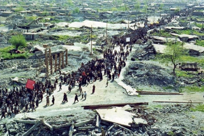 Today is the 45th anniversary of the Qaladze bombardment