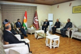 Secretary-General of the KIU receives the Islamic coordination committee in the region