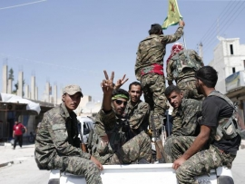Turkey condemns US move to arm Syrian Kurdish fighters