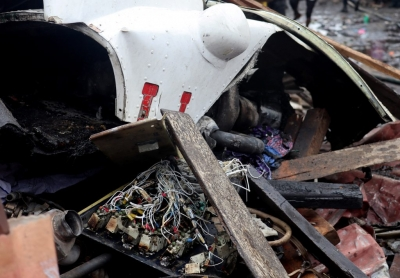 Death toll of DR Congo plane crash climbs to 23