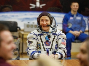 NASA astronaut Koch returns to Earth after record space mission