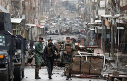 Iraqi forces press ahead in Old City push