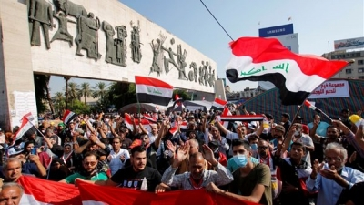 U.S. calls on Iraq to hold early elections